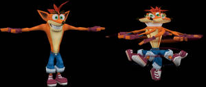 Crash Bandicoot (Crash Tag Team Racing) Model