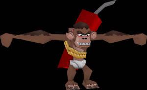 TNT Monkey (Crash Tag Team Racing) Model