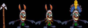 Voodoo Bunny (Crash of the Titans) Model