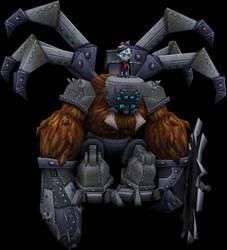 Arachnina (Crash of the Titans) Model