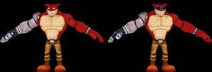 Crunch Bandicoot (Crash Mind Over Mutant) Model
