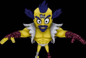 Cortex Boss (Crash Mind Over Mutant) Model