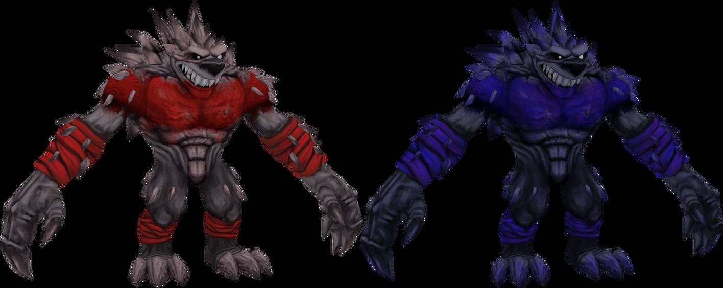 Hero Spike (Crash Mind Over Mutant) Model by CRASHARKI