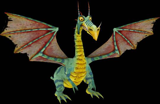 Dragon King (MediEvil Resurrection) Model