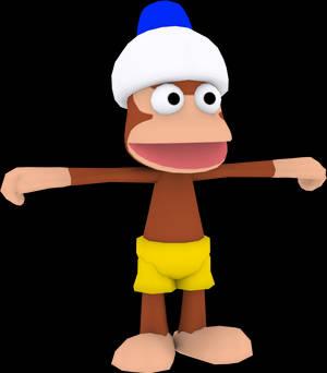 Yellow Monkey (Ape Academy) Model