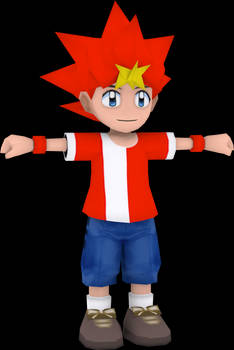 Spike (Ape Escape On The Loose) Model