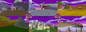 Dragon Realm (Spyro Enter the Dragonfly) Model