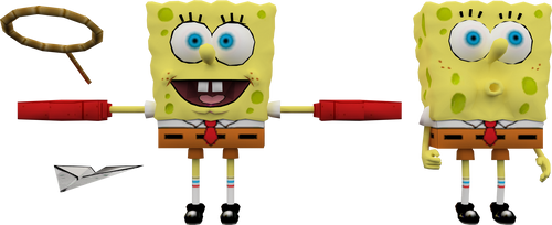 SpongeBob (Nicktoons Unite) Model