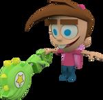 Timmy Turner (Nicktoons Unite) Model