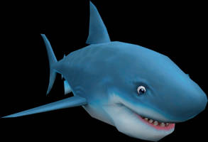 Shark (Spyro A Hero's Tail) Model