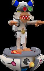 The White Monkey (Ape Academy) Model