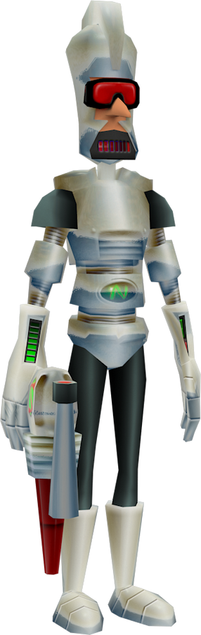 Cyborg Lab Assistant (The Wrath of Cortex) Model