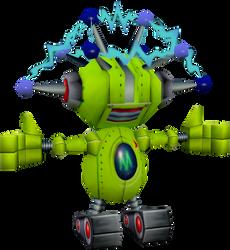 Yellow Droid (Crash The Wrath of Cortex) Model