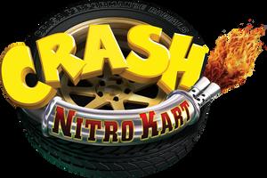 Crash Nitro Kart Official American Logo HD