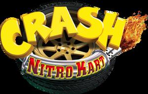 Crash Nitro Kart European Logo HD