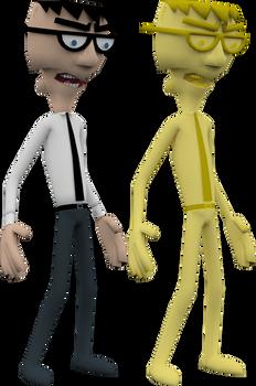 Denzel Crocker (Nicktoons Unite) Model