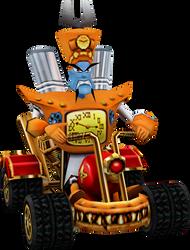 N. Tropy (Crash Nitro Kart) Kart Model