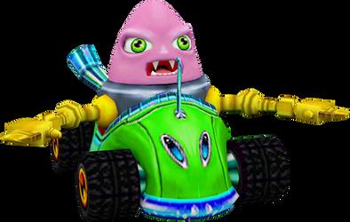 N. Trance (Crash Nitro Kart) Kart Model
