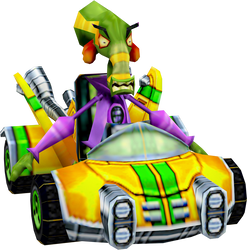 Nitrous Oxide (Crash Nitro Kart) Kart Model