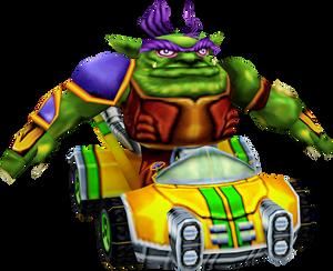 Zem (Crash Nitro Kart) Kart Model