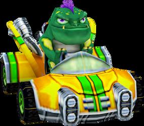 Zam (Crash Nitro Kart) Kart Model