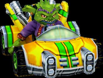 Real Velo (Crash Nitro Kart) Kart Model