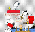 16 png of snoopy