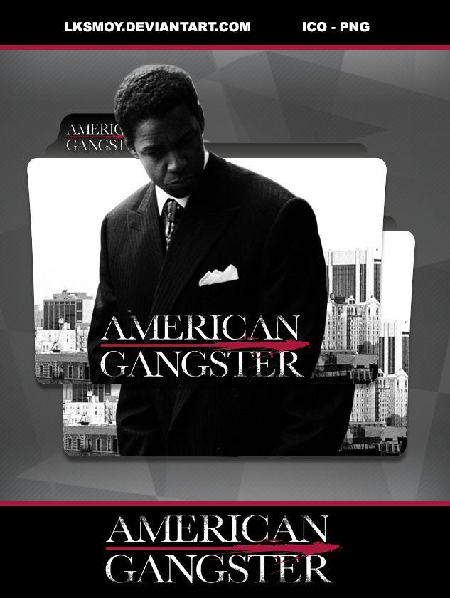 American Gangster 2007 Folder Icon By Lksmoy On Deviantart
