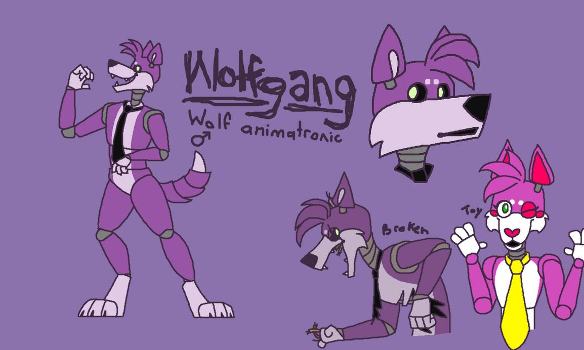 Wolfgang (FNaF Animatronic Fan Character) by ThornShadowWolf on
