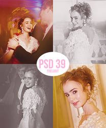 Lily Collins psd