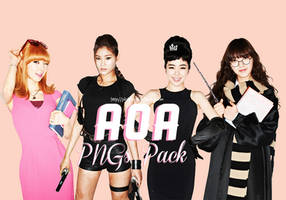 AOA (Ace Of Angels) PNGs Pack