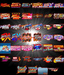 Street Fighter Mame Dock Icons