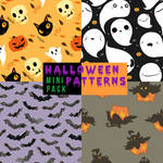 Mini pack: Halloween patterns.