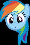 Rainbowdash Oooooo Face
