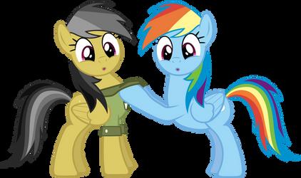 Rainbowdash And Daring Do