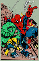 Avenging Spiderman by texas0418