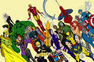 Avengers by texas0418