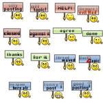 smilies english
