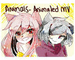 Animals Flipnote3DS Animation MV by fleesveon