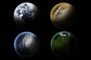 4 Planets Stock by dandimann46