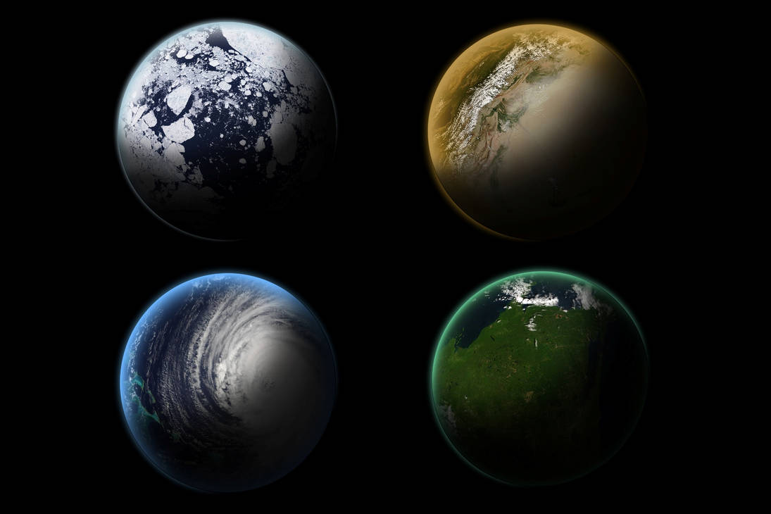 Planets Stock by dandimann46