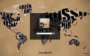 One World? by einfachnurbastian