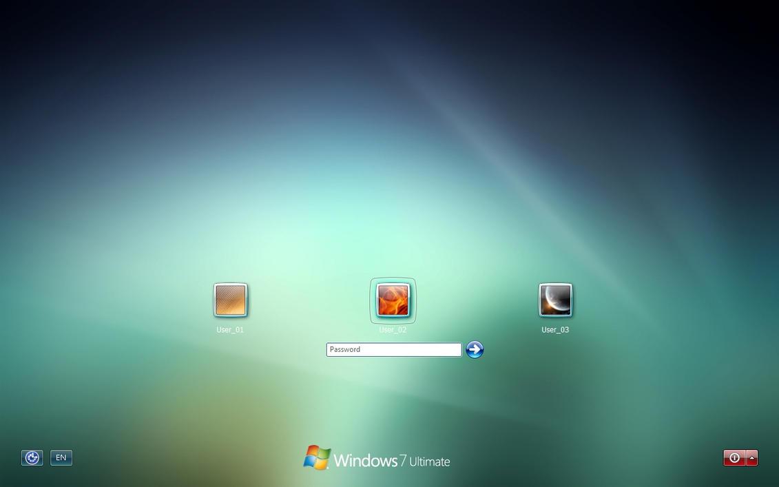 Windows 7 Logon by einfachnurbastian