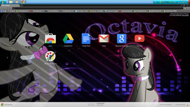 [07] Octavia Theme for CHROME (1366x768)