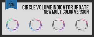 Circle Volume Indicator