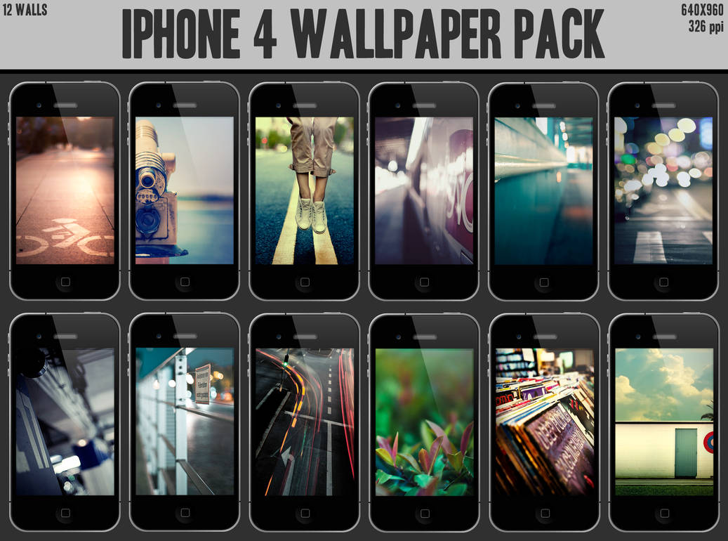 iPhone 4 Wallpaper Pack