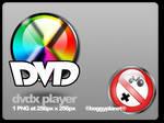 DvdX Player Dock Icon