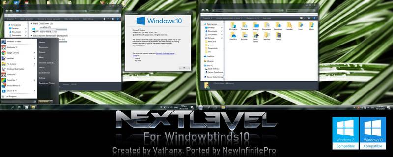 NEXTlevel on Windowblinds10