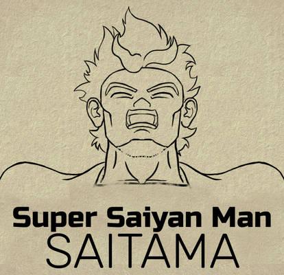 Super Saiyan Man Saitama