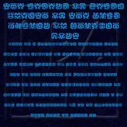 BotW Hylian or Sheikah Font (unfinsihed) by G33k1nd159153
